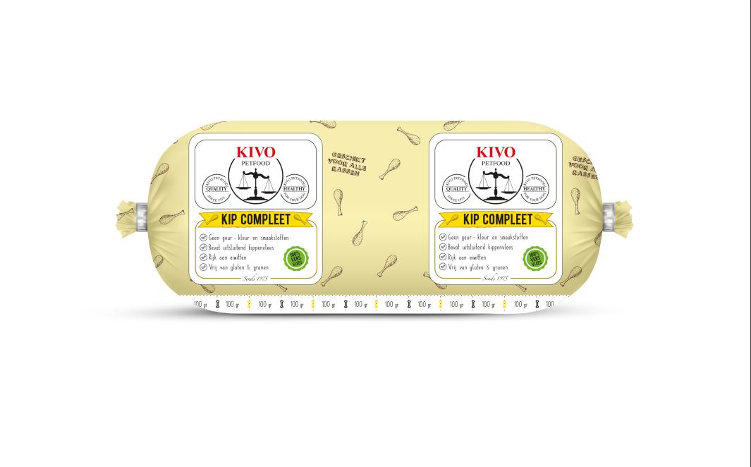 KIVO kip compleet, kilo verpakking  - Foto 1