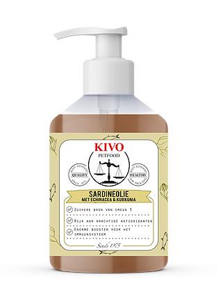 Sardineolie met echinacea en kurkuma  - Foto 1