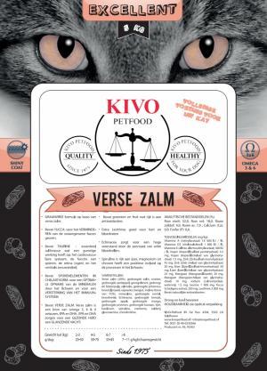 Kivo kat excellent met verse zalm